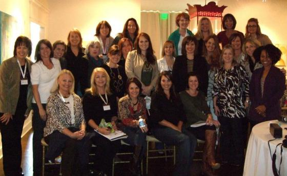 This photo is with a group of fantastic women. Risks in life...they are most definitely WORTH it!
